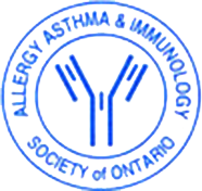 Allergy Asthma & Immunology Society of Ontario logo